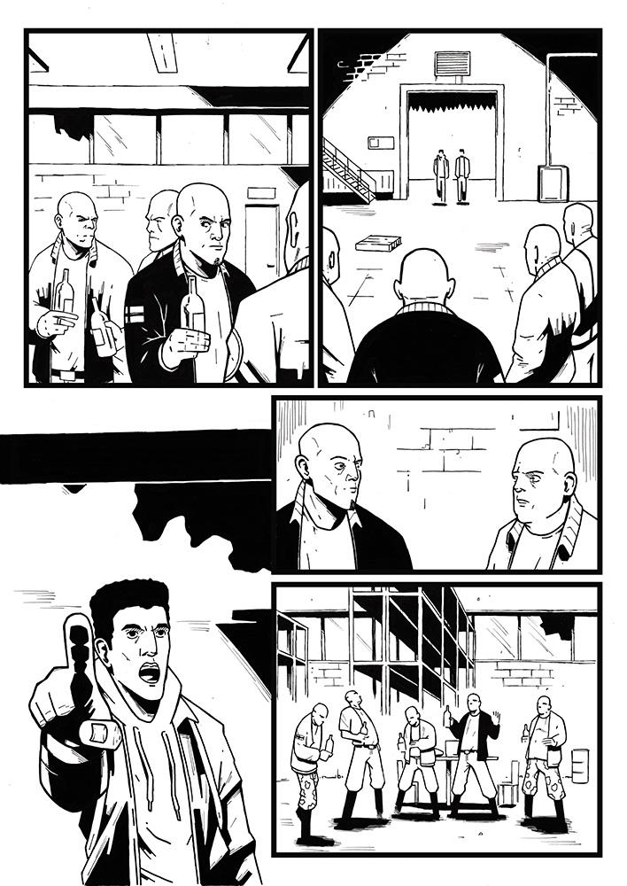 Karim promo comic page 3 by AnttiKosonen