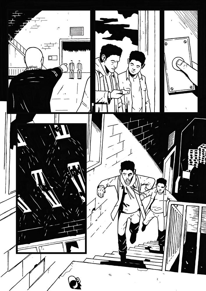 Karim promo comic page 4 by AnttiKosonen