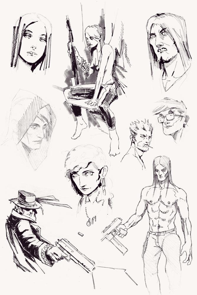 Doodles by AnttiKosonen