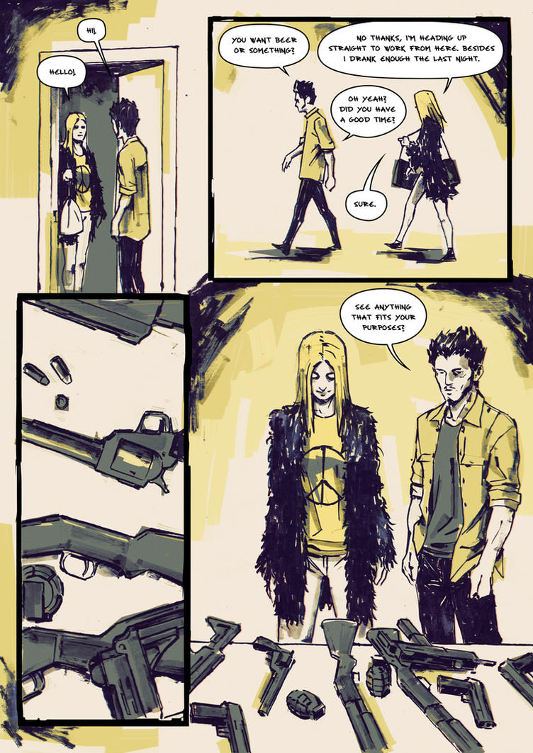 Jane The Killer Page 2 by AnttiKosonen