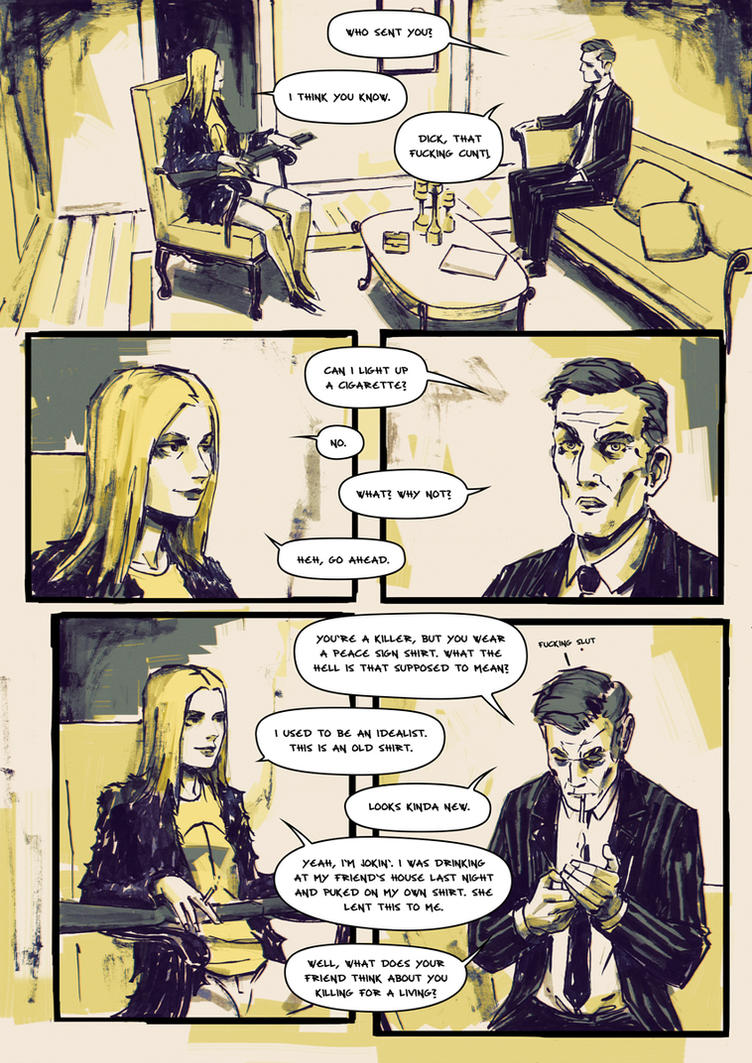 Jane The Killer Page 5 by AnttiKosonen