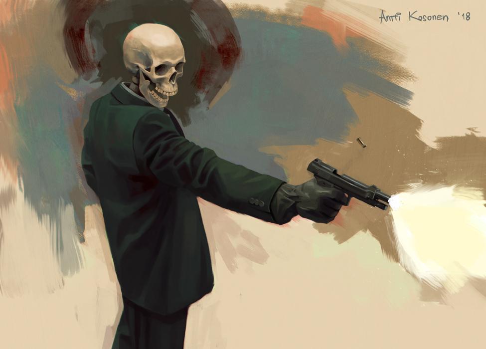 Spending a Bullet by AnttiKosonen