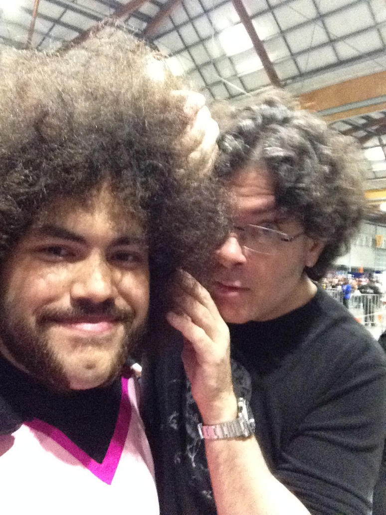 sean schemmel behind the voice actors