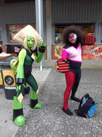 Supanova 2017: Garnet and Peridot