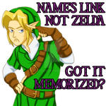 It's Link, not Zelda