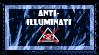 205 - Anti-Illuminati Stamp by LouisaColler