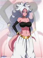 Android 21 #4 by Layerth