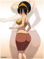 Toph Beifong by Layerth