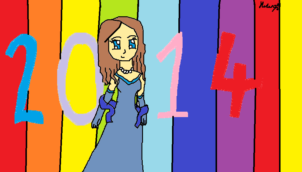 2014 is here! by heleniscool