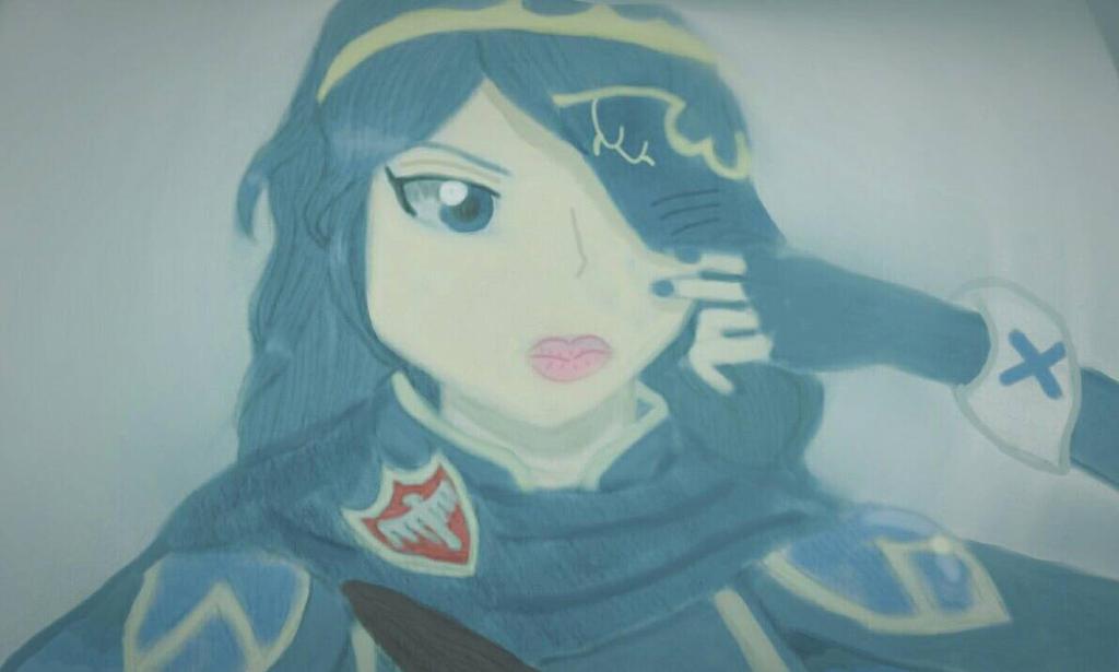 Lucina from Fire Emblem Awakening by heleniscool