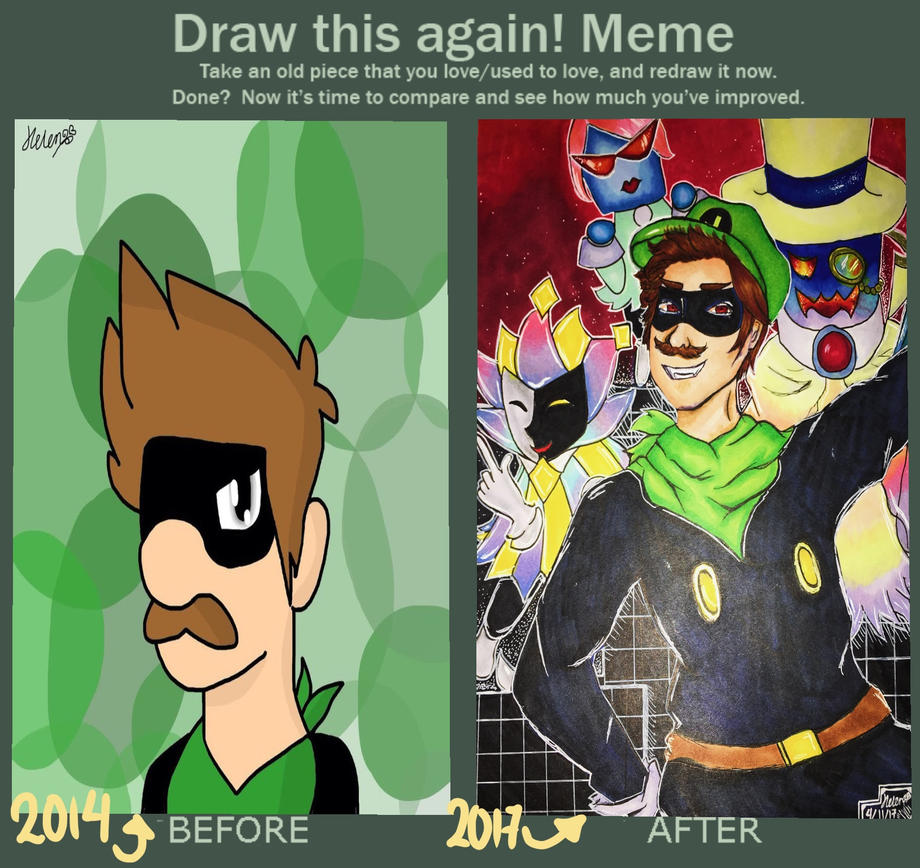 Draw This Again! Meme (Mr. L) by heleniscool