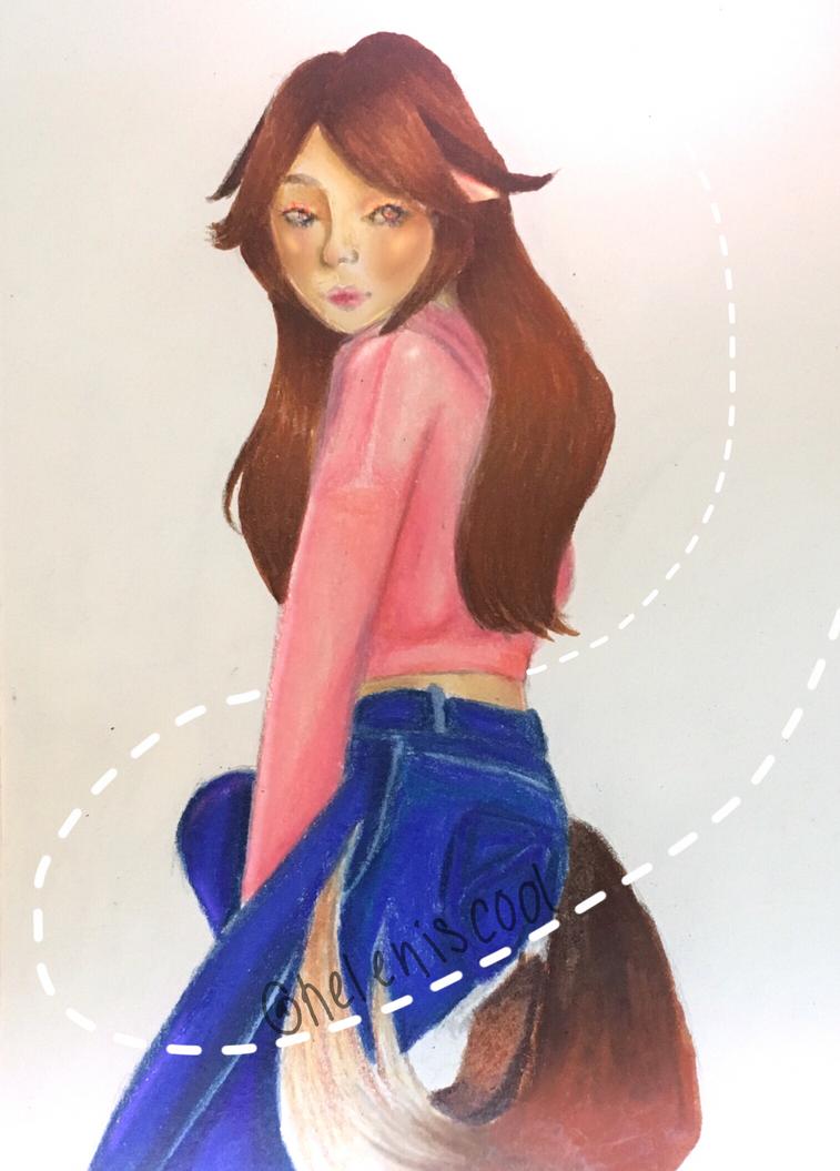 Cat girl??? by heleniscool