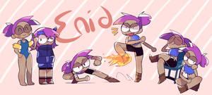 Enid - OK K.O. Let's be Heroes - Fan art