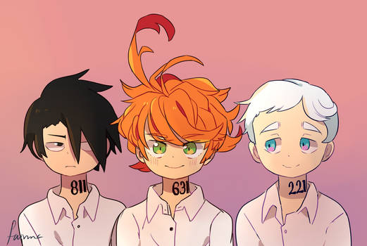 The promised Neverland - Fan Art