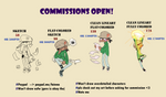 COMMISSIONS OPEN!! by Fainna