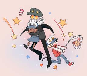 Catching stars by Fainna