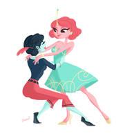 Bubbline Dance by LisaBueno