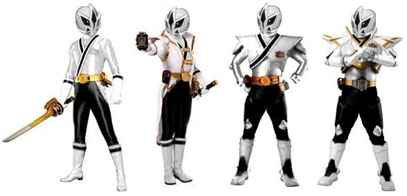 White Samurai Ranger Modes by Greencosmos80 ...  sc 1 st  DeviantArt & White Samurai Ranger Modes by Greencosmos80 on DeviantArt