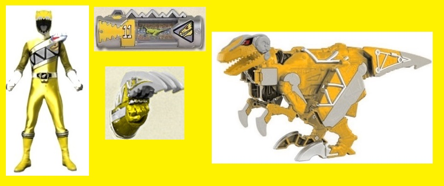 Dino Charge Yellow Ranger by Greencosmos80