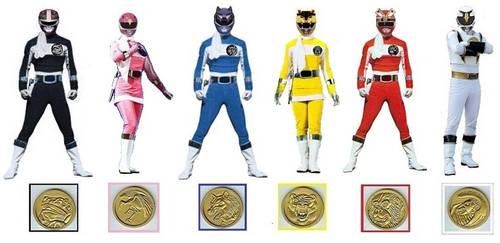 Mighty Morphin Ninja Rangers
