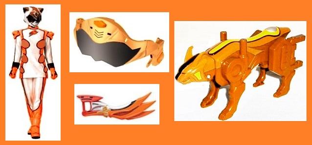 Jungle Fury Orange Ranger by Greencosmos80 on DeviantArt