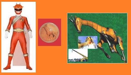 orange wild force ranger by greencosmos80 on deviantart