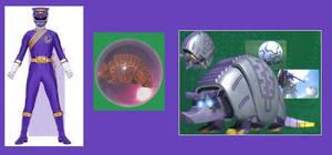 Purple Wild Force Ranger