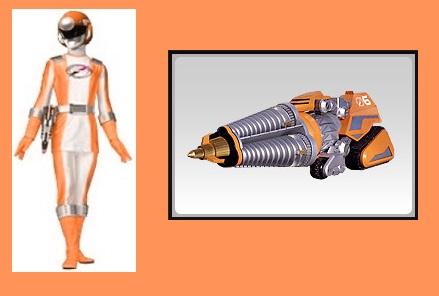 Orange Overdrive Ranger by Greencosmos80 on DeviantArt