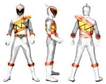 Dino Charge White Profile request by GalaxyRed by Greencosmos80
