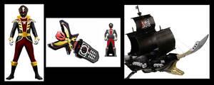 Super Megaforce Black Ranger
