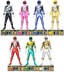 Mighty Morphin Dino Charge Rangers