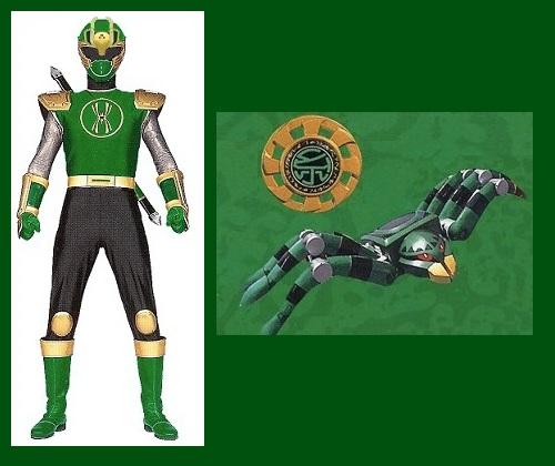 Ninja Storm Spider Ranger For Andruril93 By Greencosmos80 On Deviantart