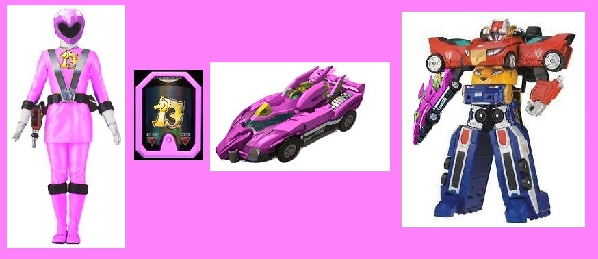RPM Pink Ranger by Gre...