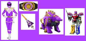 Mighty Morphin Purple Ranger