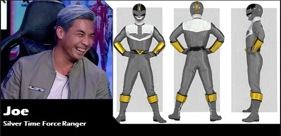 Time Force Silver Ranger by Greencosmos80