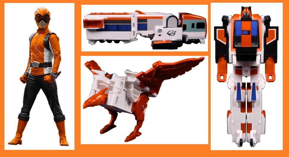 Beast Morpher Orange Ranger by Greencosmos80 on DeviantArt