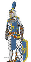 (Aquitaine) Vaugeois Knight 1