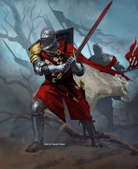 (Aquitaine) Bourguignon Knight 1