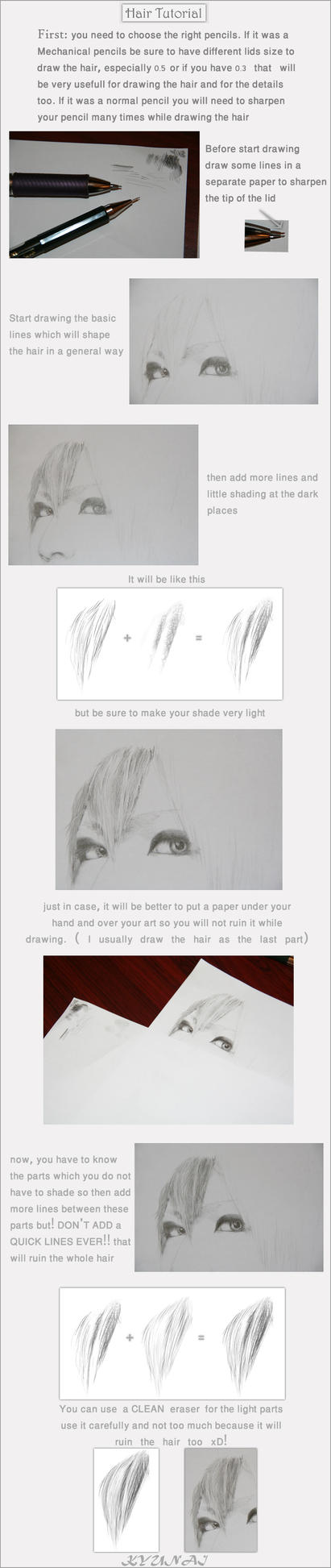 Simple Hair Tutorial by Kyunai