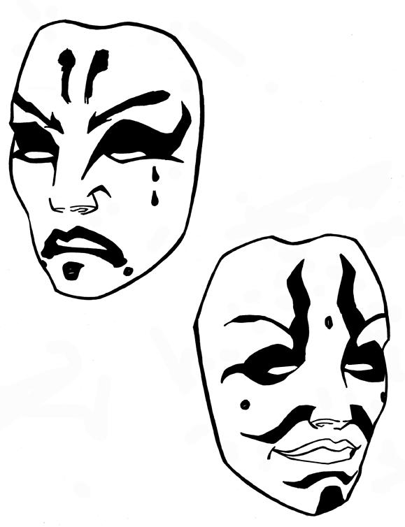 kabuki mask tatoo by brd entertaiment on deviantart. Black Bedroom Furniture Sets. Home Design Ideas