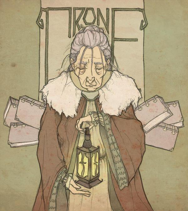 The Crone by mustamirri