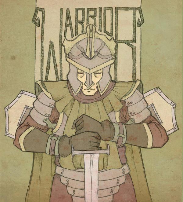 Warriors Fire And Ice Download: The Warrior By Mustamirri On DeviantArt