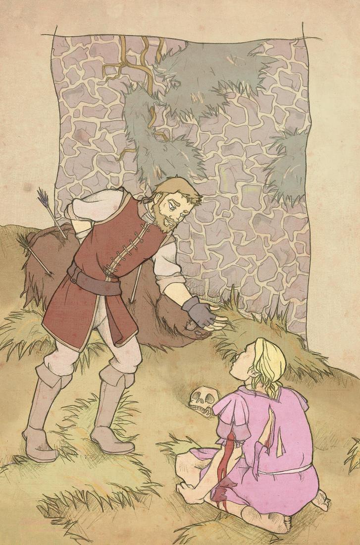 I only rescue maidens by mustamirri