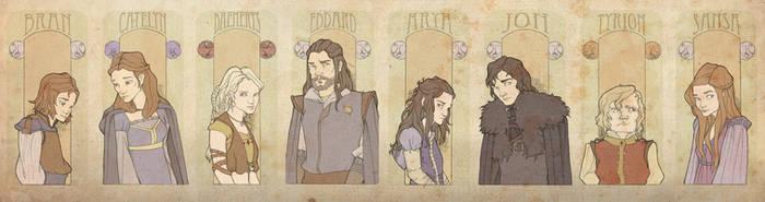Game of Thrones PoVs by mustamirri