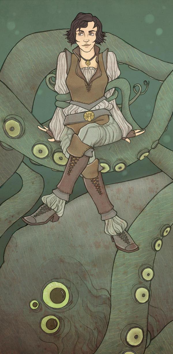 The Kraken's Daughter by mustamirri