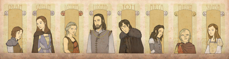 A Game of Thrones PoVs (v2) by mustamirri