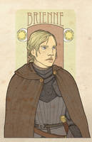 AFfC - Brienne of Tarth by mustamirri