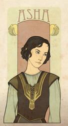 AFfC - Asha Greyjoy by mustamirri