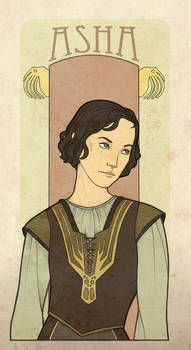 AFfC - Asha Greyjoy