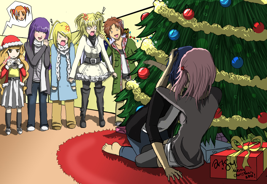 2011::. Merry Christmas - Amuto by taylorem on DeviantArt